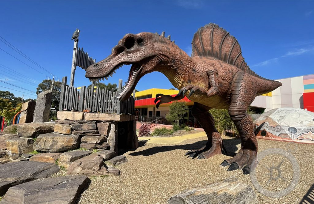 The Big Dinosaur or Discovery Childcare & Education in Croydon